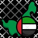 Uae Flag United Arab Emirates Emirates Icon