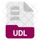 Udl file Icon