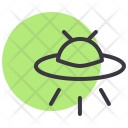 Ufo Alien Space Icon