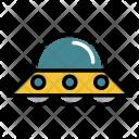 Ufo Spacecraft Alien Icon