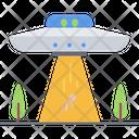 Ufo Alien Human Icon