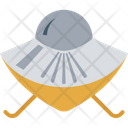 Ufo Flying Saucer Spaceship Icon