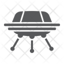 Ufo Space Spacecarft Icon