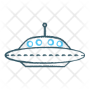 UFO Alien Ship Icon
