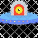 Ufo Spacecraft Spaceship Icon