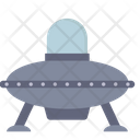 Ufo Spaceship Rocket Icon