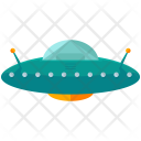 Alien Spaceship Ufo Icon