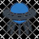 Ufo Spaceship Space Icon