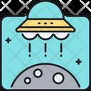 Ufo Alien Alien Spaceship Icon