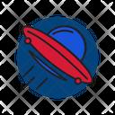 Ufo Rocket Galaxy Icon