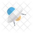 Ufo Spaceship Alienship Icon