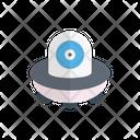 Ufo Alienship Spaceship Icon