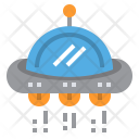 Ufo Unidentified Spaceship Icon