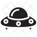 Ufo Alien Spaceship Icon