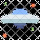 Ufo Space Ship Alien Icon
