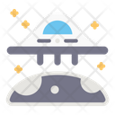 Ufo Space Science Icon