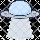 Ufo Spaceship Spacecraft Icon