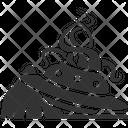 Ufo Crash Icon