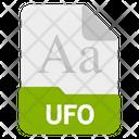Ufo File Format Icon