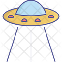 Alien Fiction Science Icon