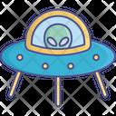 Ufo Ship Icon
