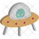 Alien Invader Space Icon