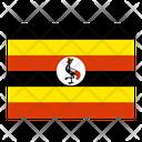 Uganda Flag Flags Icon