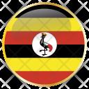 Uganda Place Country Icon