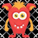 Ugly Creepy Icon
