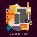 Ui Ux Development Icon