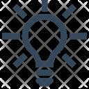 Ui Bulb Innovation Icon