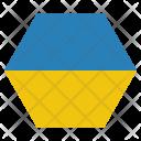 Ukraine National Country Icon