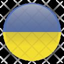 Ukraine National Holida Icon