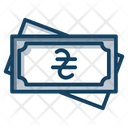 Ukraine Currency Paper Money Banknote Icon