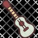 Ukulele Guitar Recreation Icon