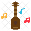 Ukulele Music Multimedia Icon