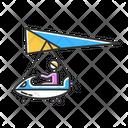 Ultralight Aviation Icon