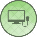 Ultrasound Sonography Care Icon