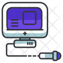 Ultrasound monitor Icon