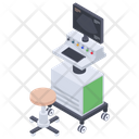 Ultrasound Scanning Machine Icon