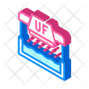 Ultraviolet Water Treatment Icon