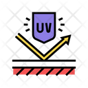 Ultraviolet Protection Violet Ultra Icon