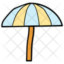 Sunshade Umbrella Protection Icon