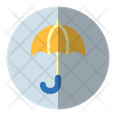 Umbrella Protection Money Insurance Icon