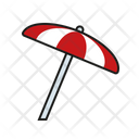 Umbrella Beach Umbrella Protection Icon