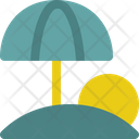 Umbrella Ball Travel Icon
