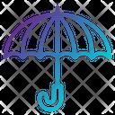 Umbrella Delivery Dry Keep Icon