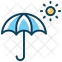 Umbrella Sun Holiday Icon