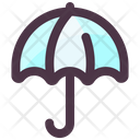 Spring Umbrella Rain Protection Icon