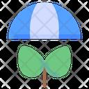 Umbrella Ecology Plant Icon